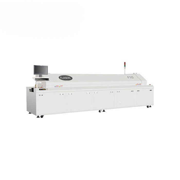 10 Heating Zones SMT Reflow Oven F10