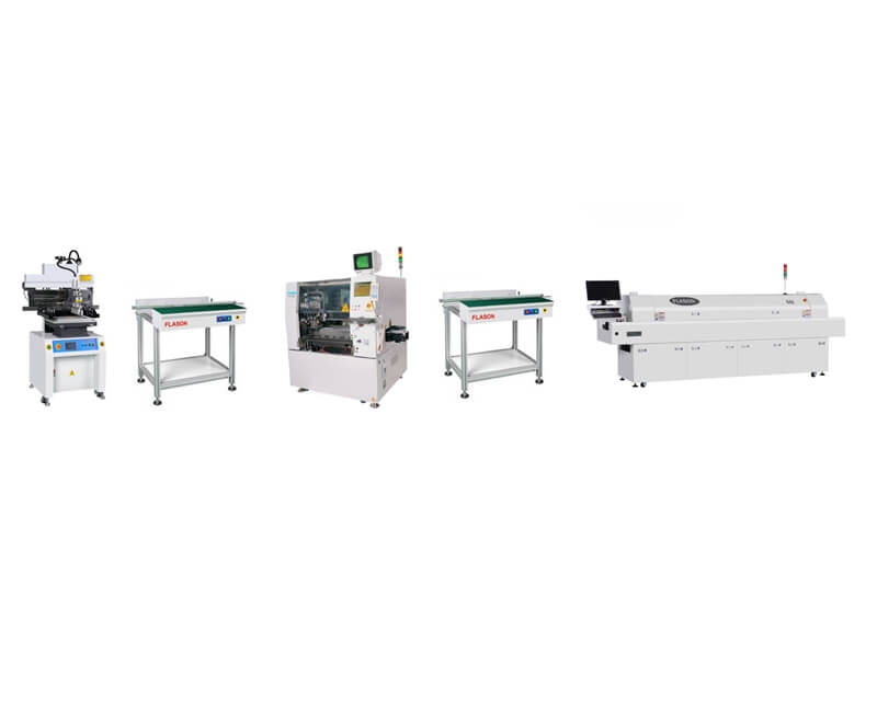 Second Hand Semi automatic SMT Production Line