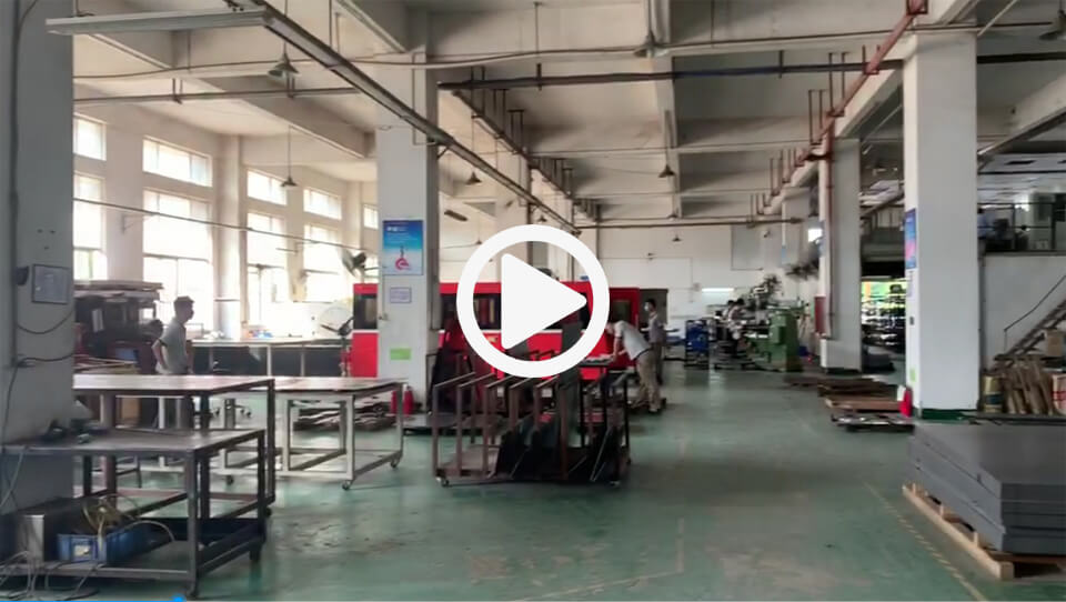 Flason Reflow Oven Case Manufacturing Workshop