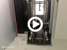Vertical Reflow Oven Inside View